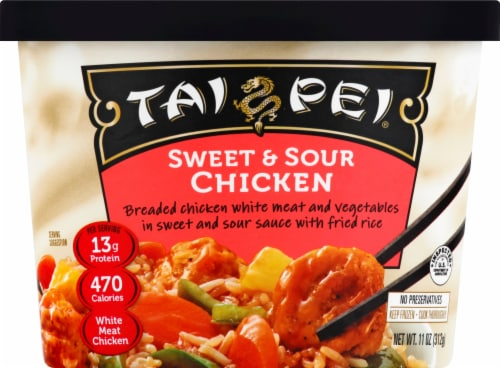 Tai Pei Sweet & Sour Chicken Perspective: front