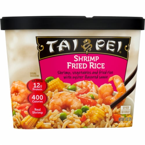 Tai Pei Shrimp Fried Rice Perspective: front