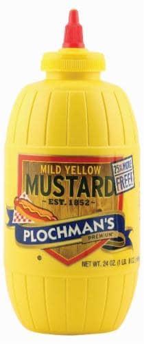 Plochman's Yellow Mustard Perspective: front