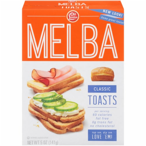 Old London Classic Melba Toasts Perspective: front