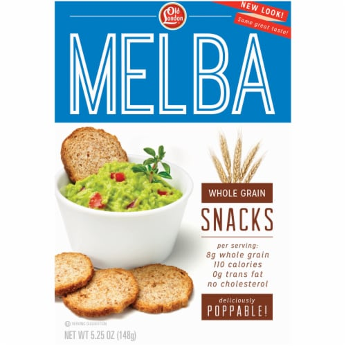 Old London Melba Whole Grain Snacks Perspective: front