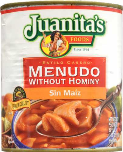 Juanita's Menudo Without Hominy Perspective: front