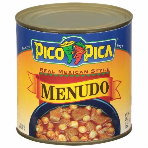 Pico Pica Menudo Perspective: front