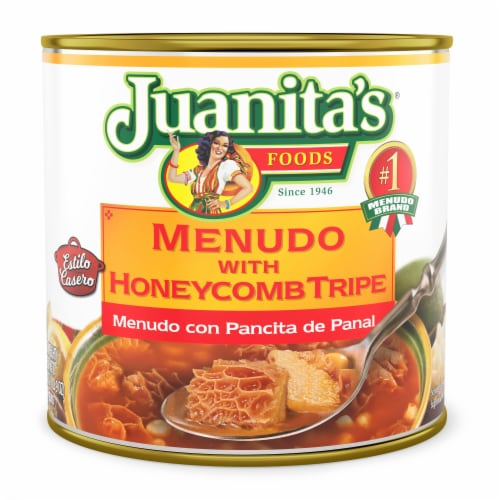 Juanita's Menudo with Honeycomb Tripe Perspective: front