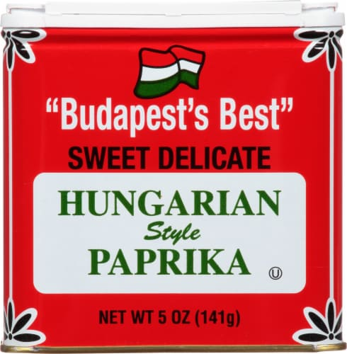 Bascom's Hungarian Paprika Perspective: front