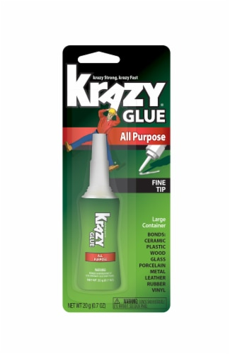 Krazy All-Purpose Glue Perspective: front