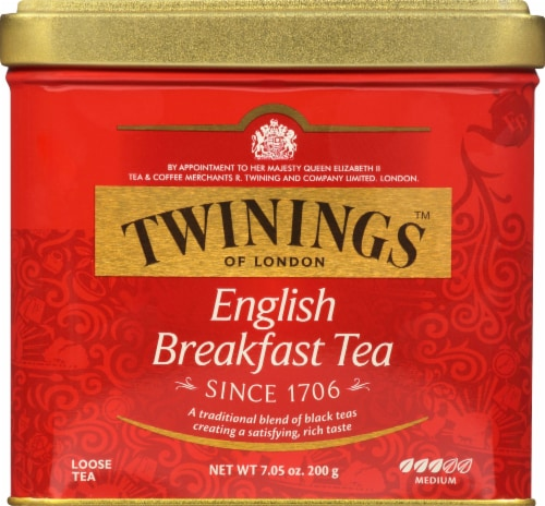 Twinings English Breakfast Tea Perspective: front