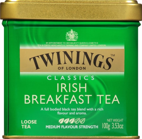 Twinings of London Classics Irish Breakfast Loose Tea Perspective: front