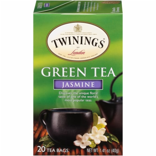 Twinings Of London Jasmine Green Tea Bags Perspective: front