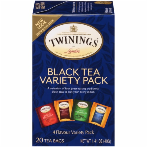 Twinings Of London Black Tea Bags Variety Pack Perspective: front