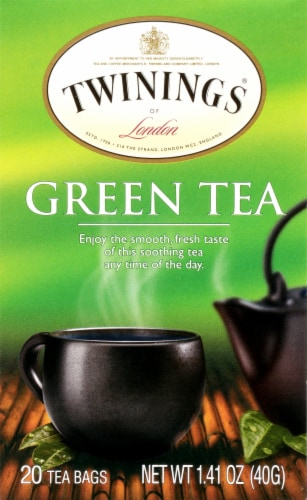 Twinings Of London Green Tea Bags Perspective: front