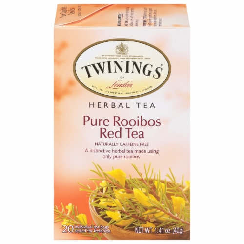 Twinings Pure Rooibos Red Tea Perspective: front