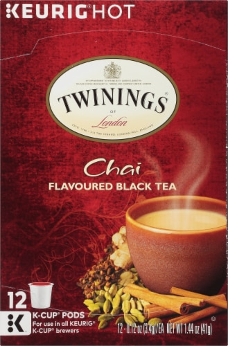 Twinings Chai K-Cup Pods Perspective: front