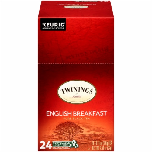 Twinings English Breakfast K-Cup Pods Perspective: front