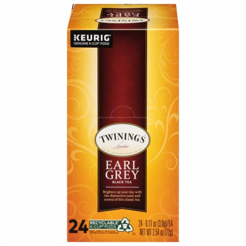 Twinings Of London Earl Grey Tea K-Cup Pods Perspective: front