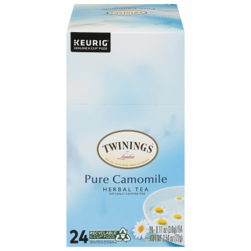 Twinings Of London Pure Camomile Herbal Tea K-Cup Pods Perspective: front