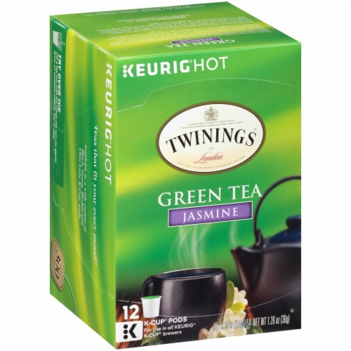 Twinings Jasmine Green Tea K-Cups® Perspective: front