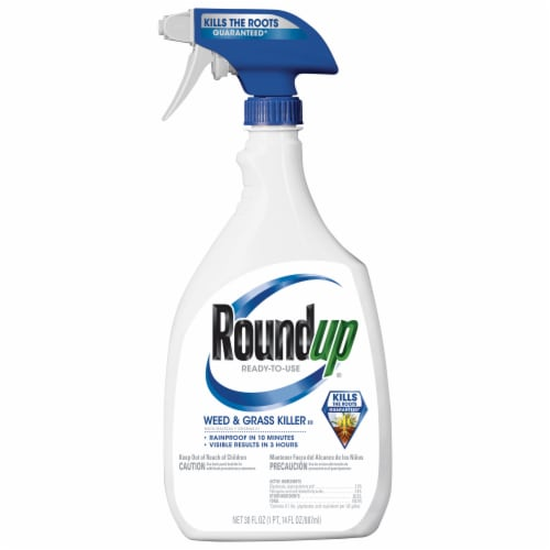 Round Up® Ready-To-Use Weed & Grass Killer Perspective: front