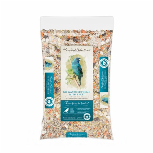 Global Harvest Foods 8039236 10 lbs Songbird Selections Chickadee & Nuthatch Bird Seed, Sunfl Perspective: front