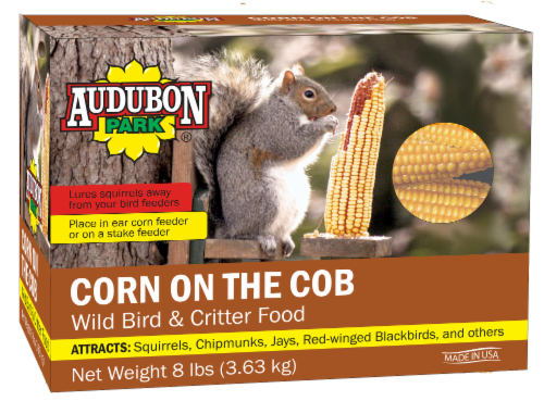 Audubon Park Corn On the Cob Wild Bird and Critter Food Perspective: front