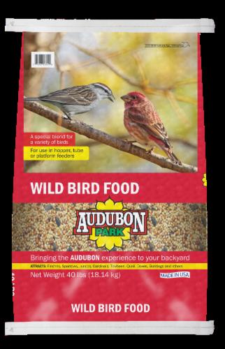 Audubon Park Wild Bird Food Perspective: front