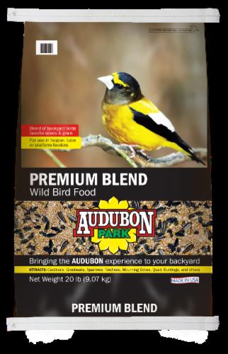 Audubon Park Premium Blend Wild Bird Food Perspective: front