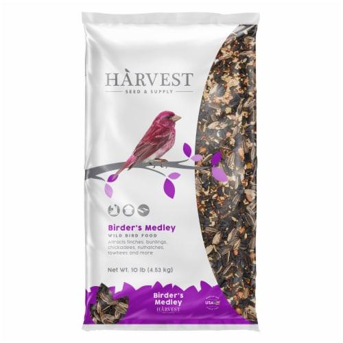 Harvest Seed & Supply Birder's Medley Wild Bird Food Perspective: front