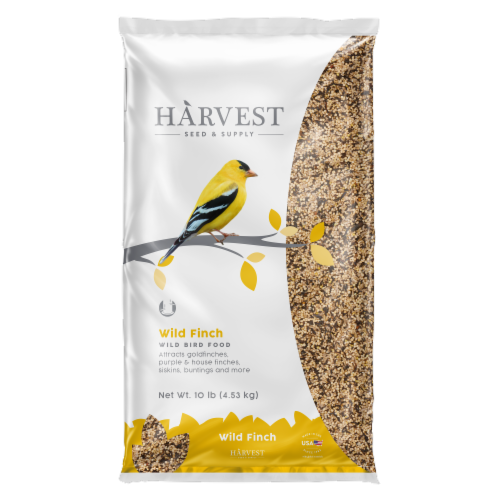 Harvest Seed & Supply Wild Finch Wild Bird Food Perspective: front