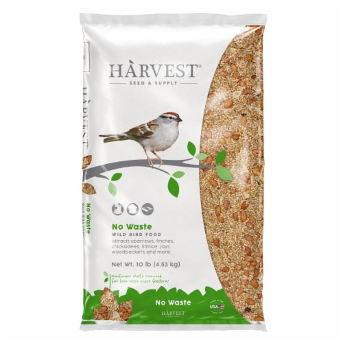 Harvest Seed & Supply No Waste Wild Bird Food Perspective: front