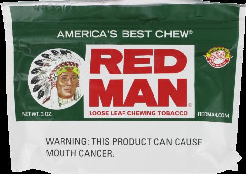 Kroger - Red Man Chewing Tobacco, 3 Oz