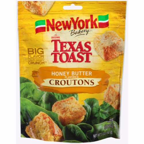 New York Bakery Texas Toast Honey Butter Croutons Perspective: front
