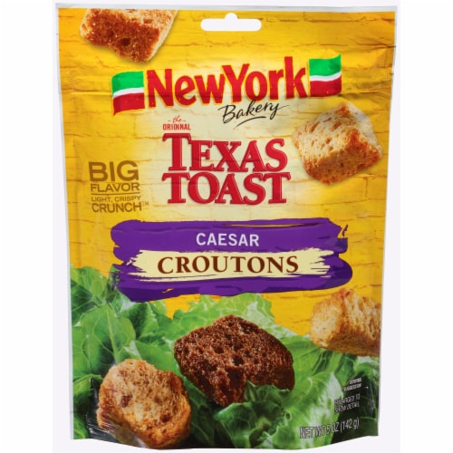 New York Bakery Texas Toast Caesar Croutons Perspective: front