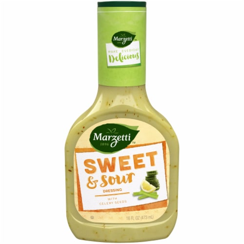Marzetti Sweet & Sour Dressing Perspective: front