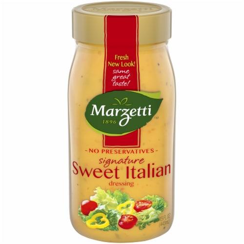 Marzetti's Sweet Italian Salad Dressing Perspective: front