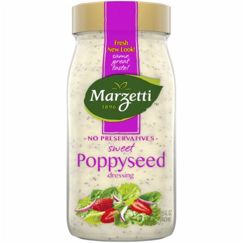 Marzetti Sweet Poppyseed Dressing Perspective: front
