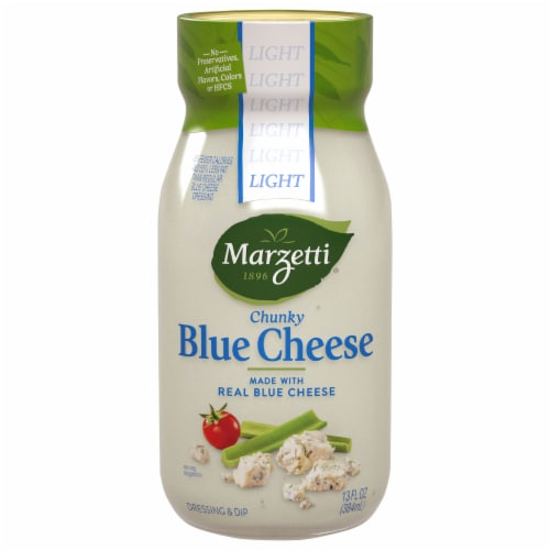 Marzetti Light Chunky Blue Cheese Dressing Perspective: front