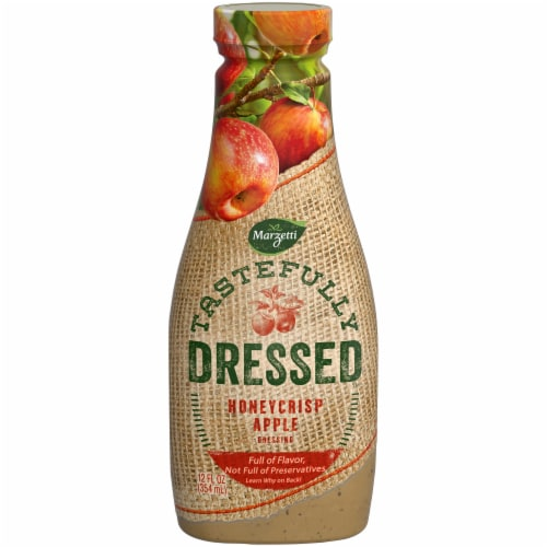 Marzetti Tastefully Dressed Honeycrisp Apple Vinaigrette Dressing Perspective: front