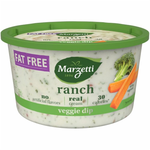 Marzetti Fat Free Ranch Veggie Dip Perspective: front