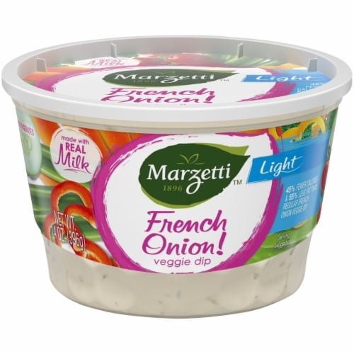 Marzetti™ Light French Onion Veggie Dip Perspective: front