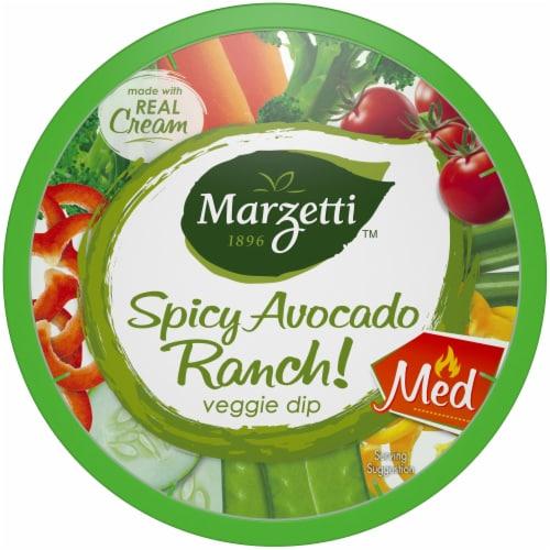 Marzetti Spicy Avocado Ranch Veggie Dip Perspective: front