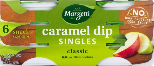 Marzetti Caramel Dip Snack Packs Perspective: front