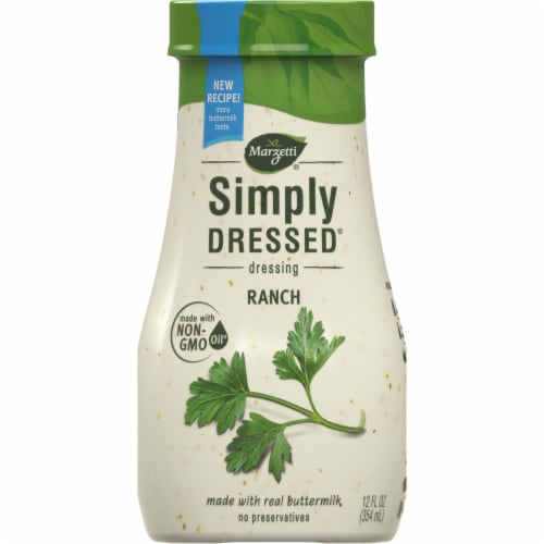 Marzetti Simply Dressed Ranch Dressing Perspective: front
