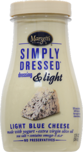 Marzetti Simply Dressed & Light Blue Cheese Dressing Perspective: front