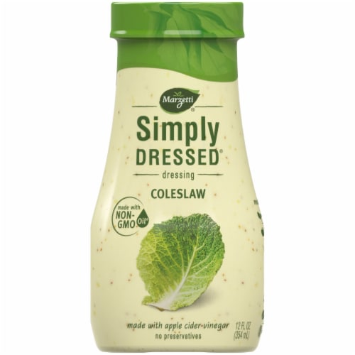 Marzetti Simply Dressed Coleslaw Dressing Perspective: front