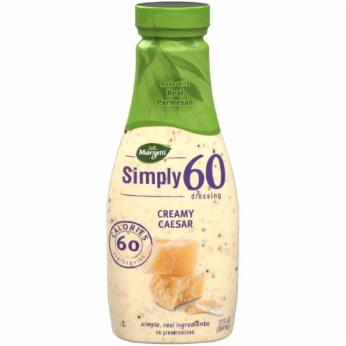 Marzetti Simply 60 Creamy Caesar Dressing Perspective: front