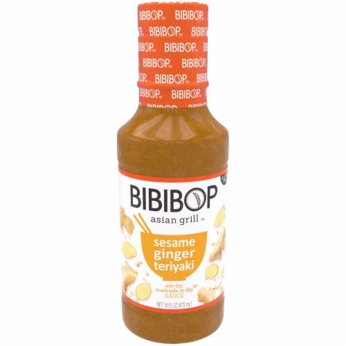 Bibibop Asian Grill Sesame Ginger Teriyaki Sauce Perspective: front