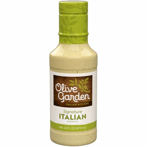 Olive Garden Italian Dressing Perspective: front