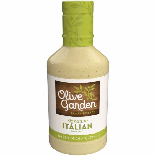 Olive Garden Signature Italian Dressing Perspective: front