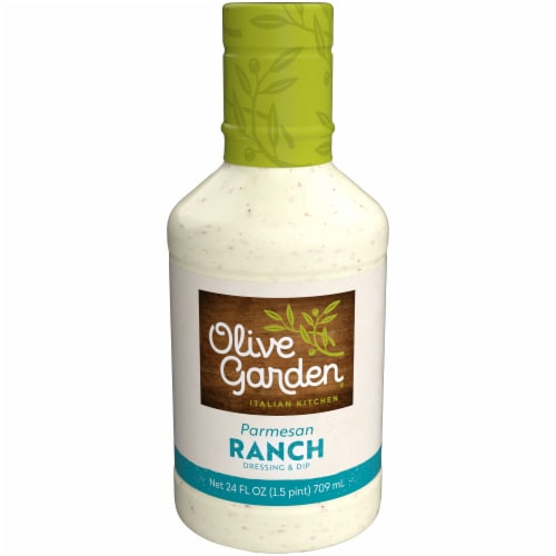 Olive Garden Parmesan Ranch Dressing Perspective: front