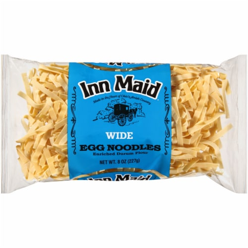 Inn Maid Wide Egg Noodles Perspective: front